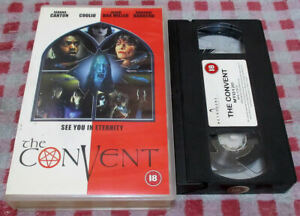 The Convent (2000) - Big box VHS video - supernatural comedy/horror - Coolio