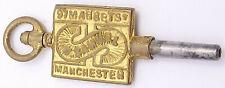 H. Samuel, Manchester. Ref Wk11 Antique Advertising Pocket Watch Key.