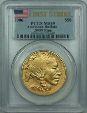 2006 American Buffalo 1 Oz .9999 $50 Fine Gold Coin PCGS MS-69 FIRST STRIKE