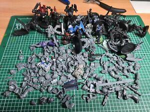 Warhammer 40k space/chaos marines job lot