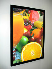 A0 SLIM LED LIGHT BOX POSTER DISPLAY -Advertising / Menu Board / Decore graphics