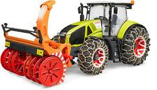 BRUDER Claas Traktor Axion 950 mit Schneeketten 03017