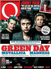 Q Magazine December 2016 Green Day Metallica Johnny Marr Metallica The 1975 NEW