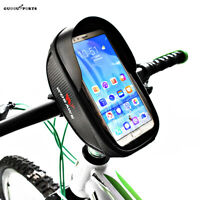 Cycling Bicycle Top Tube Bike Frame Bag Waterproof Handlebar Bag Pouch Holder