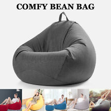 XL Bean Bag Chairs Couch Sofa Cover Indoor Lazy Relax Lounger For Adult Kid ! T