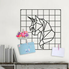 Wall Decoration For Kids, Unicorn Metal Wall Panel Decor, Unicorn Wall Hanging