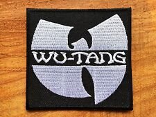 Wu-Tang Clan Embroidered Patch Sew Iron On Applique Hardcore hip hop Band Music