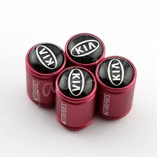 Red Round Wheel Tire Air Cap Tyre Valve Stem FOR K2 K3 K5 K7 Carens Cee'd