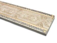 Fliesenbordüre 60x7cm Badbordüre Bordüren Cenefa Veneto beige hellbraun gold
