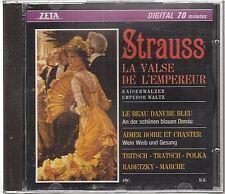 Strauss La Valse De L'empereur [CD] Polka Marche (1276) neuf new neu zeta epm