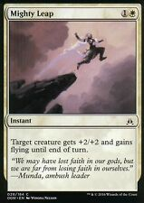 4x Mighty leap | nm/m | Oath of the gatewatch | Magic mtg