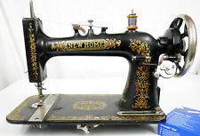 machine a coudre NEW HOME antique colector  sewing machine no singer