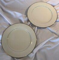 "2 NORITAKE MARSEILLE 7550  11-1/2"" Dinner Plate EUC Or Unused Replacement"