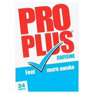 48 PRO-PLUS CAFFEINE TABLETS Pro Plus (2x24 or 48 tablets) ProPlus Stay Awake