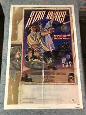 "Star Wars (Style D) 1977 Original 1 Sheet Movie Poster 27"" x 41"" (VF) NSS Style"
