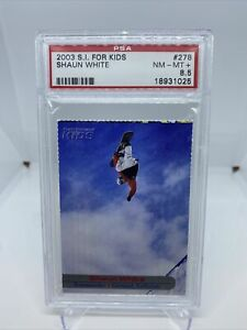 2003 Shaun White Sports Illustrated For Kids Rookie Card PSA 8.5 RC #278