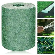 Biodegradable Grass Seed Mat Fertilizer Garden Picnic Lawn Plant Pad 20*300cm