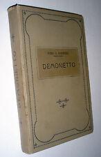 Nina G. Barengo Demonietto : Romanzo per la gioventù