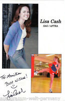 Lisa Cash TOP AK Orig. Sign. Boxen + G 5332