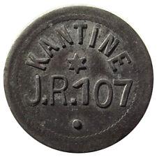 Germany Token - Military, Kantine, J.R. 107, (8th Saxon Infantry) Leipzig