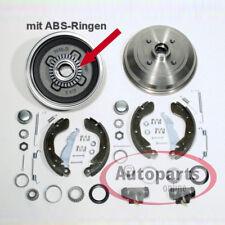 Opel Corsa B mit Abs - Bremstrommel Bremsen Set für hinten die Hinterachse