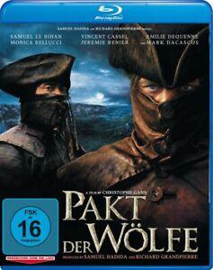 Pakt der Wölfe (Kinofassung und Director's Cut)[Blu-ray/NEU/OVP] Christophe Gans