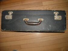Vintage Retro Wood /Cardboard Suitcase Industrial Shabby Chic Repurpose Restore