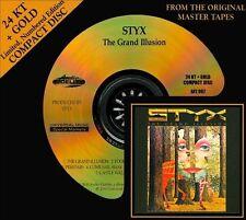 Audio CD: Grand Illusion, Styx. New Cond. Gold CD. 780014206727