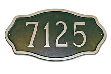 Montague Hampton Personalized Address Plaque Marker Sign in 3 Sizes & 15 Colors