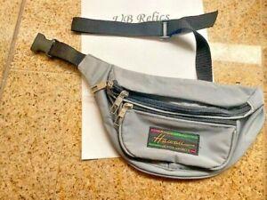 Vintage Hawaii Design Victor Sports Blue Fanny Pack Waist Bag Bum Belt Hip Pack-