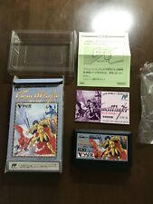 Rare Game soft Famicom 『Grand master』Box and with an instructions from Japan②