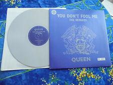 QUEEN ♫ YOU DON'T FOOL ME REMIXES UK ♫ RARE LIM EDITION GREY WAX RECORDS #11A