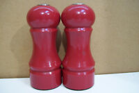 Red Salt & Pepper Shaker By Home
