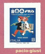 Italia 2020  FILA - FABBRICA ITALIANA DI LAPIS ED AFFINI  Francobollo singolo