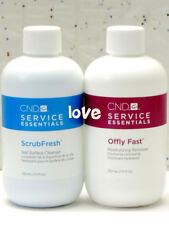 CND ScrubFresh Nail Surface Cleanser & Offly Fast Remover 222ml-7.5fl.oz of Set