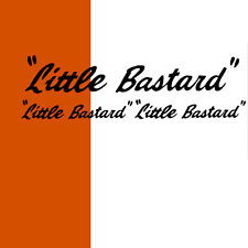 "James Dean ""Little Bastard"" 3 Stück SET Aufkleber Vespa Sticker Mini Sportwagen"