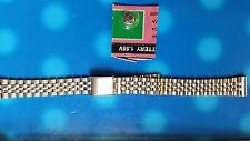 BRACELET MONTRE  /// watch bands /  metal acier argenté 12MM  / ref: JR63