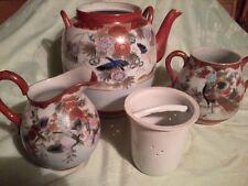 Chinesisches-Japanisches Porzellan- Antik über 100 Jahre alt 3Teilig Teekanne