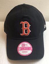 Boston Red Sox Women's New Era 940 Baseball Hat NWT Adjustable