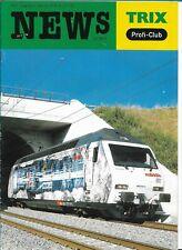 Trix New Profi-Club 4/01 Nederlands magazine