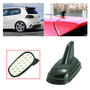 Roof Top Shark Fin Antenna Dummy Aerial Trim For VW Jetta Golf GTI Passat Bora