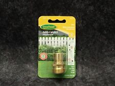 New! GreenThumb Solid Brass Male Connections, Includes Male D, P/N 581274, 2-Pk
