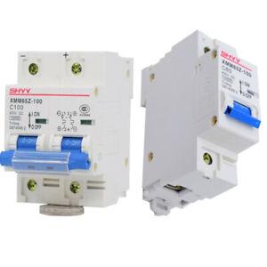 80-125Amp DC Circuit Breaker / Air Switch For Solar Panel & Battery 1P 2P 400VDC