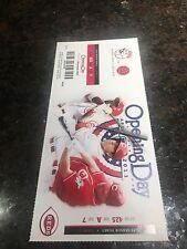 2013 Cincinnati REDS *OPENING DAY* Ticket Stub - SEASON TICKET HOLDER *Votto*