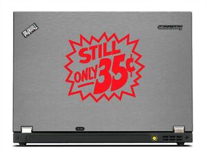 Marvel Comics Still Only 35 Cents Vinyl Decal - Car Window Logo - Laptop Decal