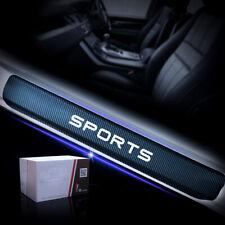 Sports Sticker Car Door Sill Door Entry Car Door Protectors Whtie 4pc For VW BWM