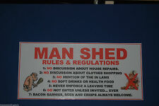 Patternless Man Cave Decorative Plaques & Signs