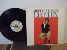 """Sarah Vaughan,Roulette 52046,""""Dreamy"""",US,LP,mono,White/cross label,jazz vocal,M-"""