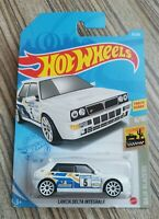 HOT WHEELS 2020 - LANCIA DELTA INTEGRALE WHITE - BAJA BLAZERS 6/10