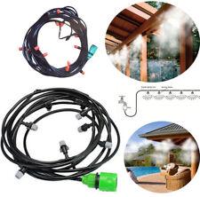 Kit nebulizzatore ad acqua nebulizzazione gazebo ombrellone giardino 10 metri